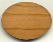 "Blank Wood Magnets(2.5"" x 1.75"" oval)"