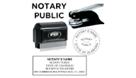 Notary Stamps & Embossers (All States except California)