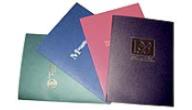 Hot Stamped Foil Folders