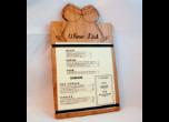 Wood Wine Lists