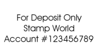 Check Endorsement Stamp