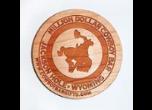 Laser Engraved Wood Magnets
