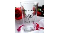 Personalized Wedding Toasting Glasses