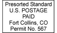 Custom Bulk Mail Stamps