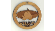 Logo Christmas Ornament Favors
