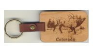 Wood Key Chains(Wild Life)