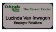 Name Tags & Signs for CSU