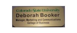 Colorado State Name Tags