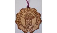 CSU Ram Christmas Ornaments