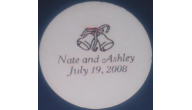 Wedding Coasters (Paper,Wood, or Marble)