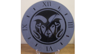 Engraved Marble Desktop & Wall Clocks