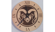 Engraved Leather Desktop & Wall Clocks