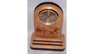 Engraved Mantel Clocks