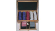 Engraved Poker Boxes