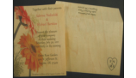 Wood Veneer Invitations