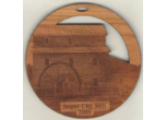 Photo Engraved Christmas Ornaments