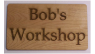 Wood Office Signs