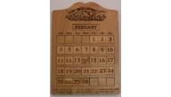 Engraved Perpetual Calendars