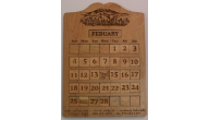 Engraved Perpetual Calendars