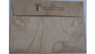 Wood Veneer Envelopes