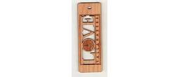 Engraved Wood Bookmarks
