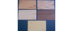 Wood Veneer Book Marks (Printed - Card Stock Thickness)