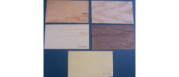 Wood Veneer Book Marks (Printed - Card Stock Thickness)
