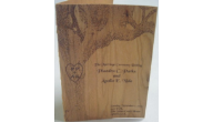 Wood Wedding Programs