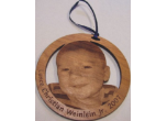 Engraved Picture Ornaments