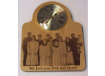 Custom Picture Clocks