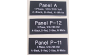 Electrician Plates & Signs