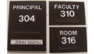 ADA School Signs