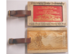 Wood Luggage Tags