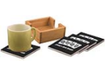 Colored Ceramic Coasters