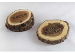 Bark Wood Coasters