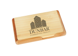 BAMBOO-GFT227 - Bamboo Business Card Holder