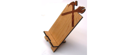 CELLPHONE-CONSTRUCTION - Wooden Cell Phone Holder (Construction)