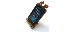 CELLPHONE-PHONE - Wooden Cell Phone Holder (Phone)