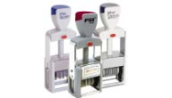 Offer custom self inking dater stamp!  We also manufacture great custom rubber stamps at low prices!