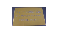 ELECTRICAL-BRASS2X3 - Brass Plates (2x3 Size Sample)
