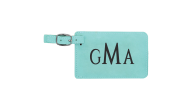 GFT802-TLT - Teal Luggage Tag Holder