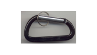 Offering specialty carabiner key chains black!  Great prices on carabineers for promotions, party favors and special events.