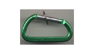 LC-CAR-GREEN - Green Carabiner Specialty Key Chain