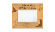 Offering personalized magnetic wedding & anniversary frames.  Beautiful detail at a reasonable price.