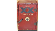 MISC-WOOD SAFE - Wooden Safe (Dos Equis)