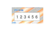 PSI-M9106 - Custom Number Stamp-6