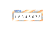PSI-M9108 - Custom Numberer Stamp-8