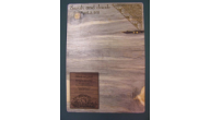 THEME-GUEST-INVITATION - Wood Guest Plaque(Invitation Inlay Example)