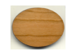 "WHOLESALE-WOOD MAGNETS - Blank Wood Magnets(2.5"" x 1.75"" oval)"
