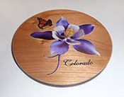 Color Printed Wood Coasters